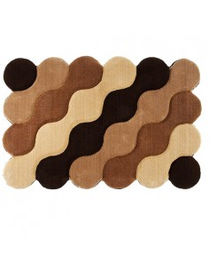 Zarbaf Decorative Doormat With Wave Pattern Rc-161 full view