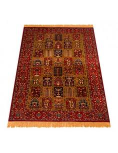 Khorasan Hand-woven Silk Carpet Rc-165 full view