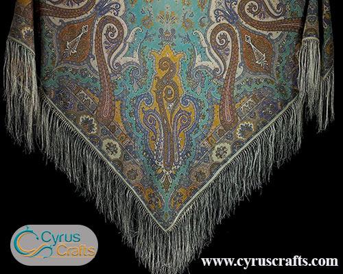 turkmen scarf