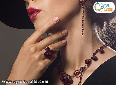 diamonds, rubies and emeralds jewelry