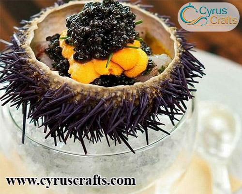 distinguish genuine caviar