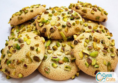 ghorabieh cookie