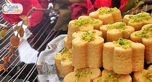 persian nokhodchi cookie