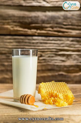 honey milk for breakfast