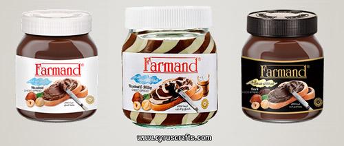 farmand iranian chocolate