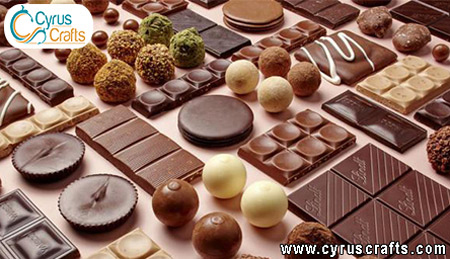 tasty chocolate and candy