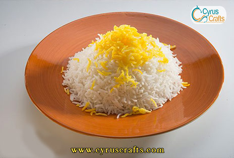 aromatic and tasty persian rice