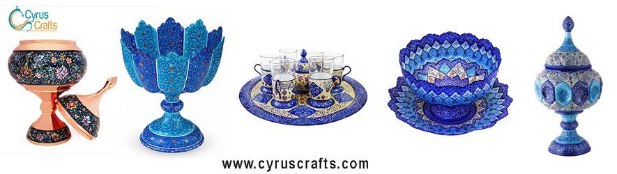 decorative container minakari