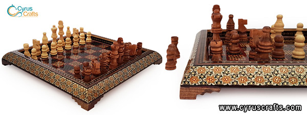 decorative chessboard handicrafts