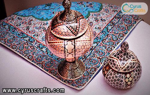 decorative dishes inlay