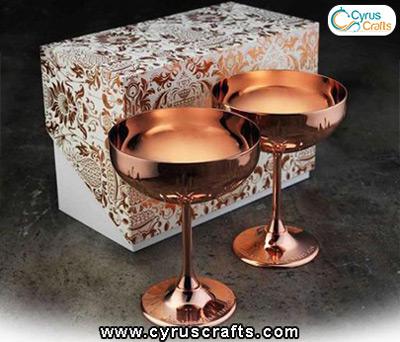metal inlay decorative container