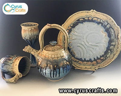 pottery container