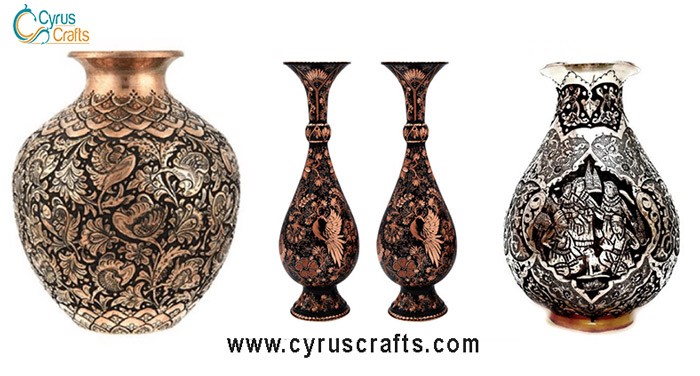 decorative utensils toreutics - ghalamzani