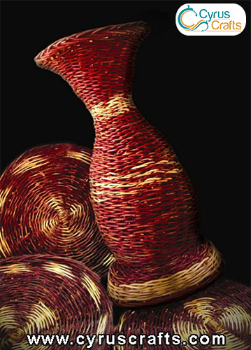 wicker weaving