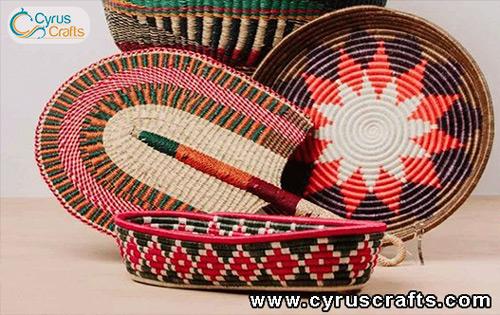 wicker wooden handicraft
