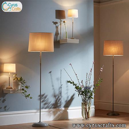 different types floor lamp