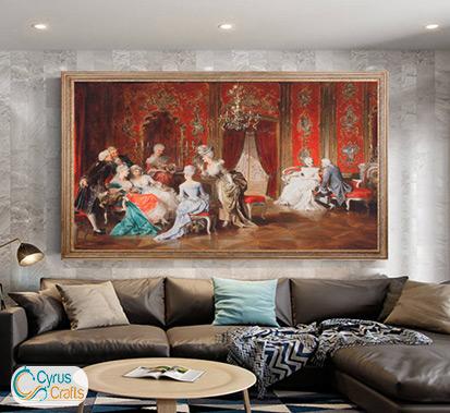wall hanging tableau