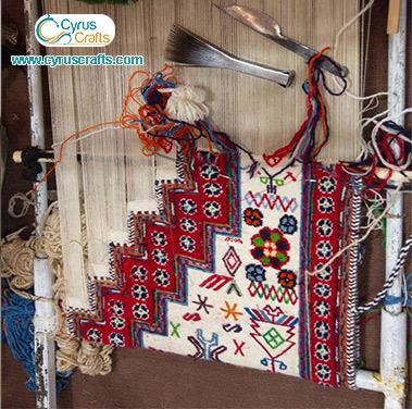 gabbeh kilim weaving