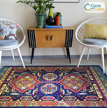 kilim in home decoration