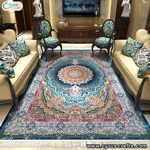 persian machine woven carpet