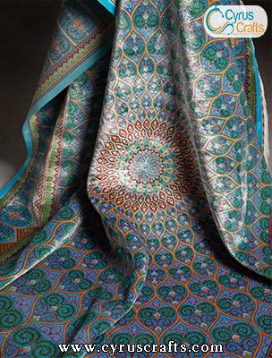 high quality silk carpet
